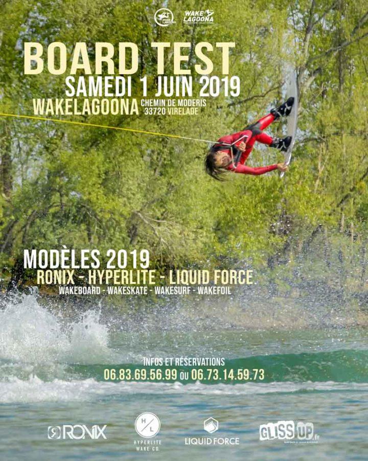 Board test samedi 1er juin